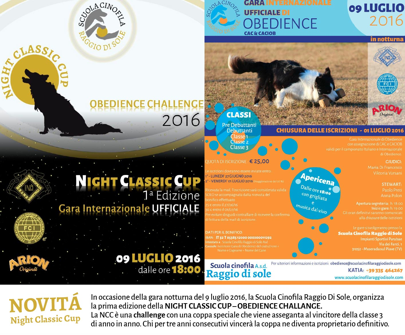 Gara di Obedience